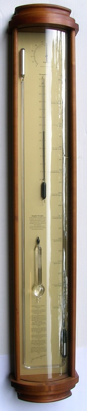 WF Bow front barometer